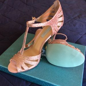 Blue by Betsey Johnson SB-Tee Champagne Heels - 8